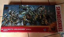 Transformers DINOBOTS UNLEASHED PLATINUM EDITION 5 PACK CHROME Xmas Gift Present