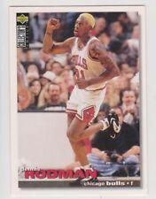 1995-96 Upper Deck Collector's Choice #15 Dennis Rodman Chicago Bulls ENG II