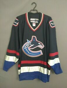 Vancouver Canucks Jersey Size XXL Shirt Hockey CCM ig93