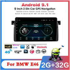 """For BMW E46 Car Multimedia Player Radio GPS MP3 DAB WIFI9"""" Android 9.1 32+2GB"""