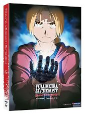 Fullmetal Alchemist: Brotherhood Part 1 - ANIME - NEW (DVD, 2010, 2-Disc Set)