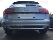 Audi A6 C7 4G Avant Diffusor Tuning Heckdiffusor S-Line Look Spoiler 11-10/2014
