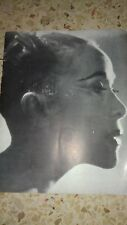 MARTHA GRAHAM & DANCE COMPANY HABIMAH PROGRAM 1958 ISRAEL