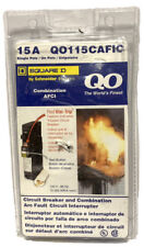 Square D Q0120AFIC Single Pole20 A Combination Arc Fault Circuit Interrupter New