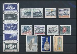 LN72212 Sweden mixed thematics nice lot of good stamps MNH