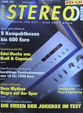 Stéréo 7/08 Piega tp5, Yamaha A-S/CD-S 1000, Esoteric x-05, Marantz pm-11 s1