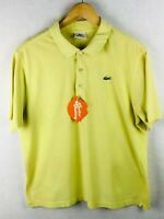 VINTAGE Mens LACOSTE Polo Shirt DEVANLAY SPORT Short Sleeve Size 4 Small P60
