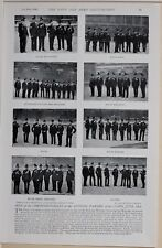 1896 BOER WAR ERA COMMISSIONAIRES ANNUAL PARADE OF CORPS RIFLES MARINES LANCERS