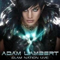 ADAM LAMBERT - GLAM NATION LIVE  CD + DVD NEW!