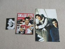SMASH HITS 1995 +Giant 4 page double sided poster (Oasis + Boyzone)+ free gift