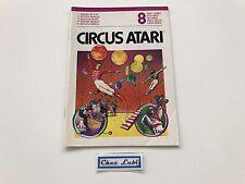 Notice - Circus Atari - Atari 2600 - PAL EUR