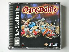 Ogre Battle LE w/Fold Out & Stickers (PlayStation 1) Complete - Mint Disc - PS1