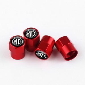 MG ZS ZST EV B F GS HS PHEV MG3 MG6 B Midget Aluminum Valve Cap RED Wheel Tyre