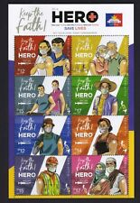 Philippines 2021 Fight VIRUS, be a HERO, get your dose of Vaccine sht/8 mint NH