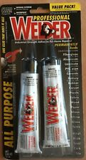 New listing Professional Welder Adhesive contains 2 1oz tubes) Clear