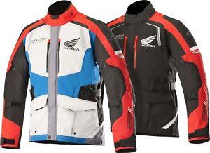 Alpinestars Andes V2 Drystar Honda Men's Motorcycle Jacket Waterproof Touring