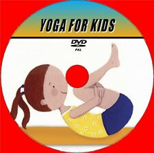 CHILDS YOGA VIDEO DVD STEP BY STEP EXCERCISE GUIDE 4 PARENTS + CHILDREN ALL AGES