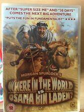 WHERE IN THE WORLD IS OSAMA BIN LADEN ~ 2008 Morgan Spurlock Documentary UK DVD