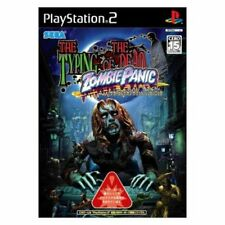 USED PS2 THE TYPING OF THE DEAD ZOMBIE PANIC
