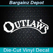 Vinyl Decal ... The OUTLAWS ... Band Car Laptop Sticker Vinyl Decal