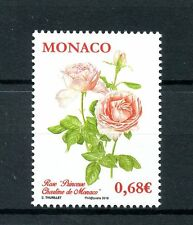Monaco 2015 MNH Princess Charlene of Monaco Rose 1v Set Roses Flowers Stamps