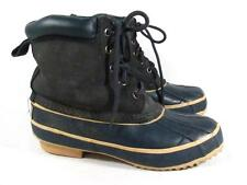Vintage Western Chief Duck Snow Boot Women size 7 m Navy Suede