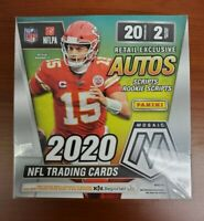 2020 Panini MOSAIC Football MEGA Box! -Walmart Exclusive! Burrow, Herbert?