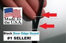 Trim Protectors (4 Door Kit) USA Made! BLACK DOOR EDGE GUARDS (Fits): JEEP