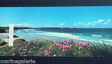 plage bretonne Bretagne décoration marine poster photo couleur panoramique 67cm