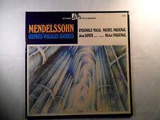 LP ADES MENDELSSOHN Oeuvres Vocales Sacrées Michel Piquemal MINT