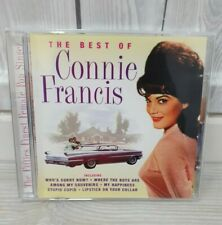 Connie Francis The Best Of Connie Francis CD Album