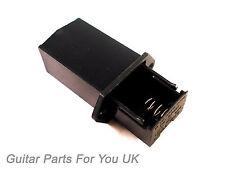 Chitarra ELETTRICA Caricamento fine 9 Volt Batteria Box Per Chitarra attivi Electrics