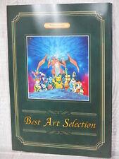 POKEMON Best Art Selection Pokemon Center Ltd Folder & Postcard 2015 Ltd Book