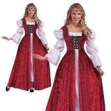 Femmes Médiéval Jeune Fille Robe Renaissance Princesse Déguisement Robe Adultes