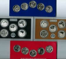 """2019 All """"20"""" x Quarter Types 5 Silver S Proof 15 Clad With P & D From Mint Set!"""