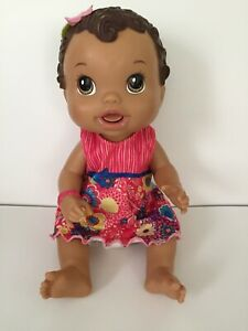Hasbro 2011 BABY ALIVE ALL GONE Hispanic talking doll