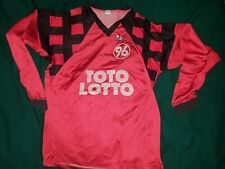 Hannover 96 Football Shirt 1994-1995 match worn trikot fussball toto lotto jerse