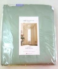 "Liz Claiborne Kathryn  Scarf Valance 50"" W x 216"" Inch  Restoration Green NEW"