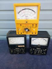 3 Simpson 260 Series 6 Vom Multimeters No Leads Not Sold As Working