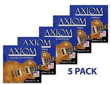 Axiom Electric Guitar Strings 5 PACK 10-46 Made in USA