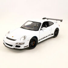 1 18 Welly Porsche 911 (997) Gt3 RS Coupe Black/orange