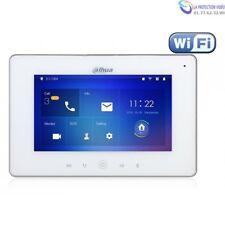 "Ecran interphone DAHUA Wifi 7"" 12Vdc/POE Slot SD AL6/1DahuaVTH5221D-W"