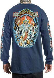 Sullen Wizaard Wizard Psychedelic Trippy Tattoos Art Long Sleeve T Shirt SCM3094