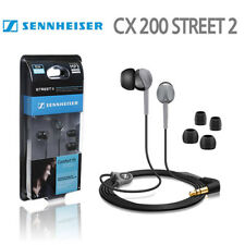 New Sennheiser CX200 Street-ll Comfort In-Ear Earphones Headphones CX-200 Black