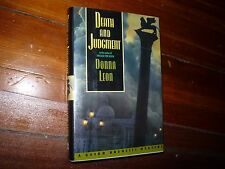Death and Judgment: A Guido Brunetti Mystery Donna Leon 1st HC/DJ