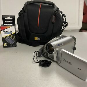 Panasonic Camcorder PV-GS39 With Case And Battery Extras No Sim Tested Working