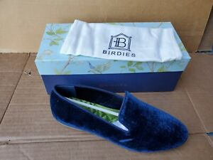 BIRDIES The Starling Midnight Navy Flat Slippers Shoes Size 8.5 NIB