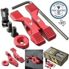 Strike Industries SWITCH Ambi Safety Ambidextrous RED 60 90 degree + Cap