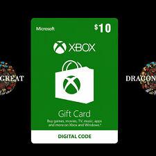 $10 XBOX Live Digital Key -  Xbox One / Xbox 360 $10 USD - US Gift Card [US]