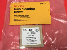 "II-IV Incorporated - ZnSe Lens - Positive Meniscus 1.5"" dia x 5.0"" FL - NEW"
